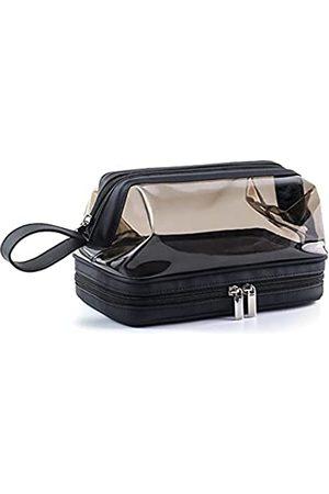 LONGJET CRAFTING THE CORE LJ Herren Handtaschen - Longjet Kosmetiktasche für Damen und Herren, durchsichtig, doppelschichtig, transparent, für Kosmetik