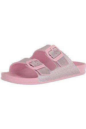 Skechers Girls Foamies Cali Blast-Summer Sparkles Slide Sandal