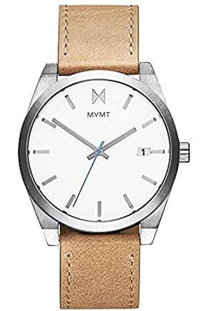 MVMT Herren Analog Quarz Uhr mit Leder Armband 28000040-D