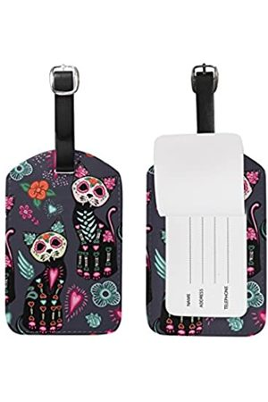 SEULIFE Gepäckanhänger, Halloween, Katze, Reisekoffer