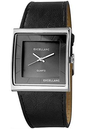 Excellanc Damen Analog Quarz Uhr mit Verschiedene Materialien Armband 193021200347