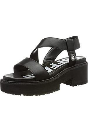 Buffalo Damen ROJANA Flache Sandale, Black