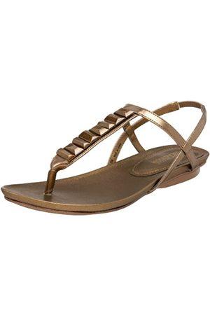 Kenneth Cole Damen Shell Beach Sandal, Braun (bronze)