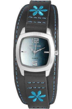 Excellanc Damen-Armbanduhr Analog Quarz Leder 192123500029