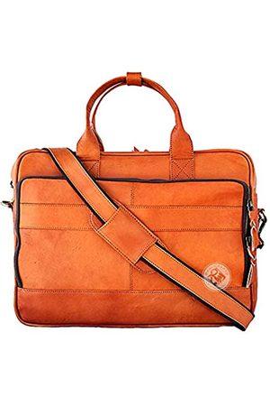 RAQI CRAFTS Premium Laptop-Aktentasche, Kuriertasche, Schultertasche, Portfolio, Satchel Formal und Casual Bag für Herren 40