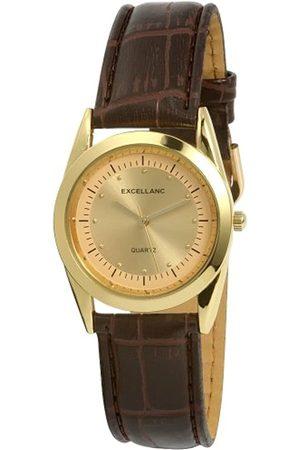 Excellanc Herren-Uhren mit Polyurethan Lederband 290304000001