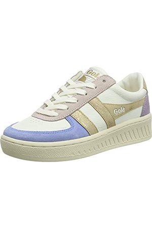 Gola Damen Daytona Quadrant Sneaker, Off White/Vista Blue/ /Lily
