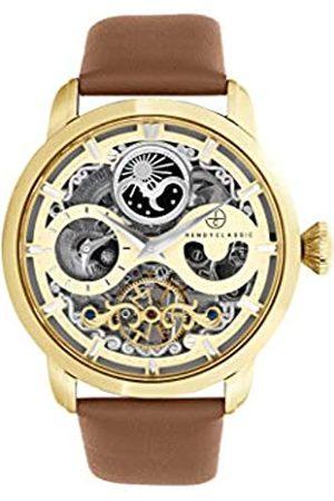 TRENDY CLASSIC Für Herren Analog Quarz Uhr mit Leder Armband CG1056-07