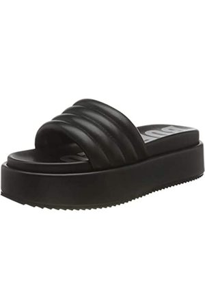 Buffalo Damen ROVENA Flache Sandale, BLACK