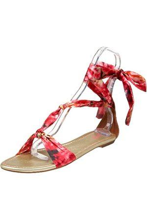 Seychelles Ferry Ride Damen-Sandalen mit Knöchelbindung, flach, Pink (Rose)