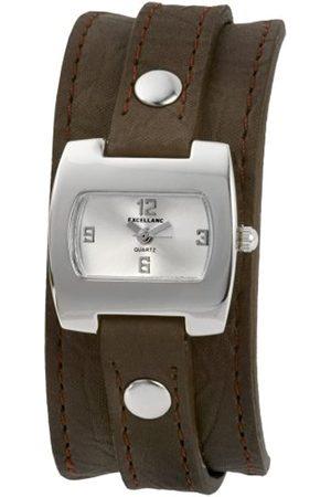 Excellanc Damen-Uhren mit Polyurethan Lederband 192122600007