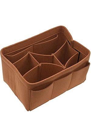 Becomore Filz-Kosmetiktasche, Reisetasche, Organizer-Tasche in Tasche für Handtasche, Geldbörse, Organizer, 8 Farben, 3 Größen