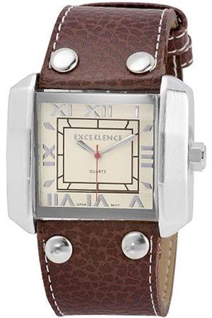 Excellanc Herren-Uhren mit Polyurethan Lederband 295024500007