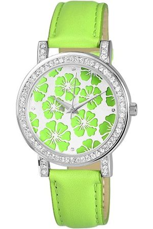Excellanc Damen-Uhren mit Polyurethan Lederband 195026500010