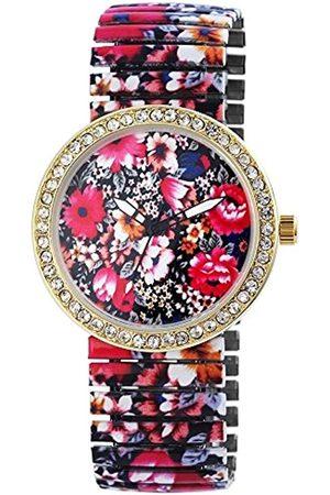 Excellanc Damen Analog Quarz Uhr mit Alloy Armband 170698400002