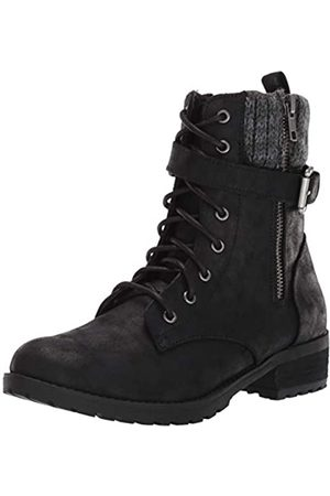 Skechers Damen Dome-Tall Lace Up Sweater Collar Boot with Strap modischer Stiefel