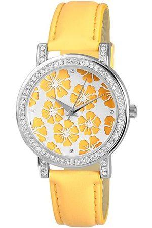 Excellanc Damen-Uhren mit Polyurethan Lederband 195024000010
