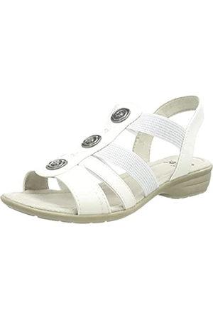 Jana Softline Damen 8-8-28166-26 100 Flache Sandale