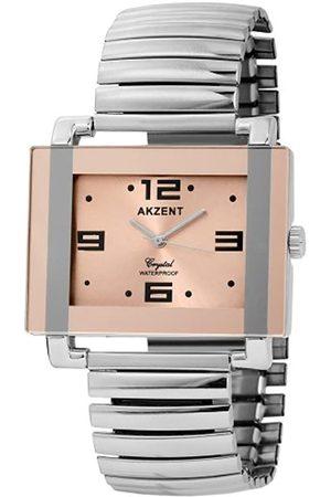 Akzent Herren-Uhren mit Metallzugband 272525500001