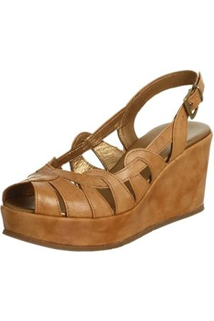 Cordani Damen Darin Sandalen mit Keilabsatz, (Camel)