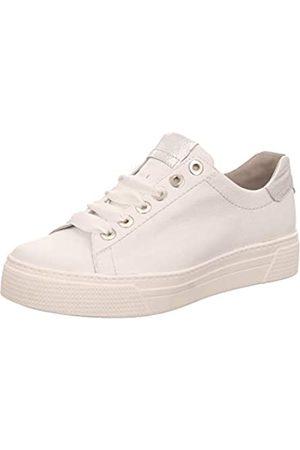 Semler Damen Alexa Sneaker, (Weiss-Silber 101)