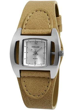Excellanc Damen-Armbanduhr XS Analog Quarz Verschiedene Materialien 195222700003