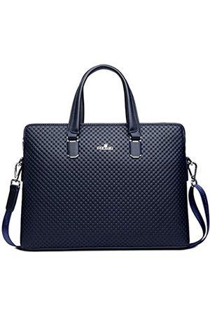 FSD.WG [] Business-Tasche Leder Aktentasche Schulter Laptop Business Tasche für Herren