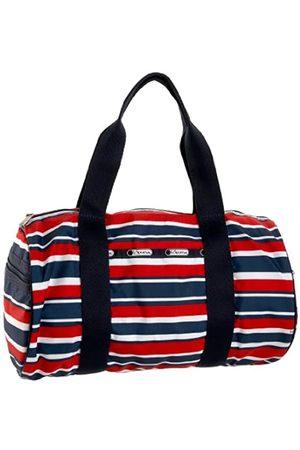 LeSportsac Duffel Handtasche, Rot (Gestreifter AHOI)