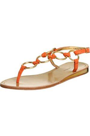 Daniblack Damen Greet Slingback String, (Tangerine)