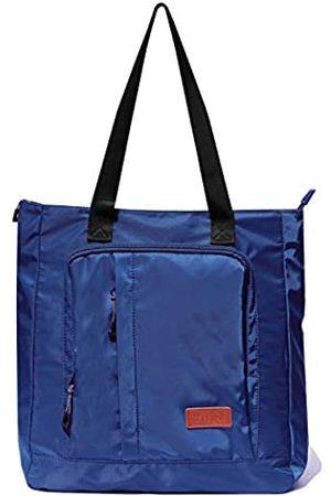 ESVAN Große Reisetasche, wasserabweisend, Schultertasche, leicht, für Männer und Frauen, Unisex, (navy)