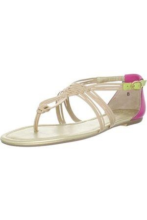 Seychelles Damen Coy String Sandale, Beige (Vacchetta Multi)