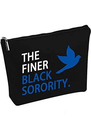 """Generic ZPB Kosmetiktasche mit Aufschrift """"The Finer Black Sorority Dove"""", griechische Sorority Kosmetiktasche"""