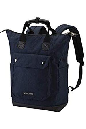 WUJIE WHITECRAB Laptop-Rucksack, 25,4 cm breit, offen, Computer-Rucksack, Laptop-Tasche, College-Rucksack, wasserabweisend, Business-Reiserucksack, Mehrzweck-Rucksack für Damen und Herren