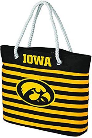 FOCO Unisex-Erwachsene Iowa Hawkeyes Tragetasche mit nautischen Streifen