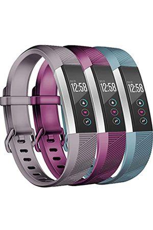 Wekin Ersatzbänder kompatibel für Fitbit Alta und Alta HR, atmungsaktiv, für Damen und Herren, verstellbares Armband, Armbänder mit sicherer Schnalle für Smartwatch-Tracker, klein, groß