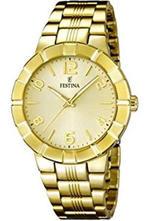 Festina Damen-Armbanduhr Analog Quarz Edelstahl F16713/2