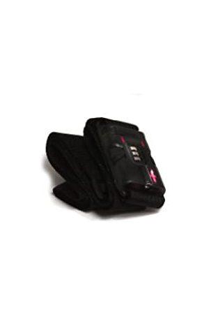Safe Skies TSA 3 Dial TSA-Approved Luggage Strap, Black