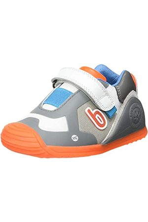 Biomecanics Baby Jungen 212154-B Sneaker, Gris Y Multicolor (Rejilla)