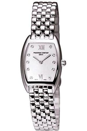 Frederique Constant Damen Analog Quarz Uhr mit Edelstahl Armband FC-200MPWD1T26B