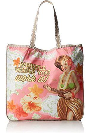 LeSportsac Leflirt Tote Handtasche ohne Rüschen Schultertasche Handtasche, Pink (Pfeife während Sie arbeiten)