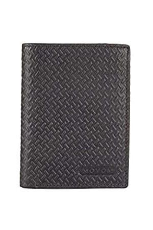 MOVOM Steel Vertikale Brieftasche mit Münzfach 8,5x11