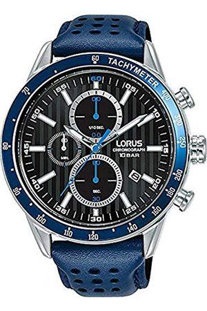 Lorus Herren Analog Quarz Uhr mit Echtes Leder Armband RM337GX9