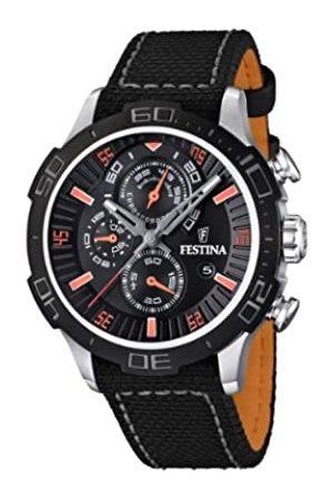 Festina Herren-Armbanduhr XL La Vuelta Chronograph Nylon F16566/5