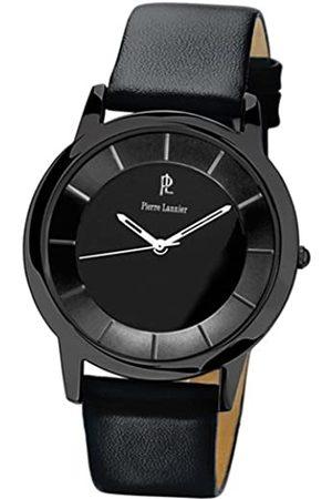Pierre Lannier Herren-Armbanduhr Analog Leder 219C433