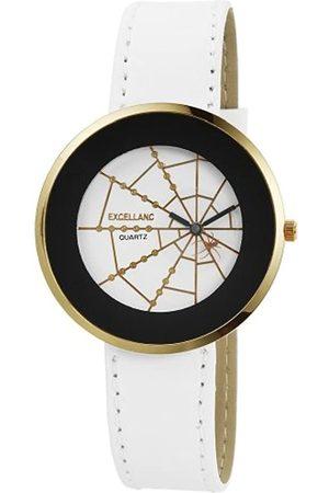 Excellanc Damen-Uhren mit Polyurethan Lederband 192002100050