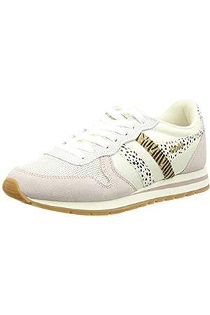 Gola Damen Daytona Safari Sneaker, Off White/Blossom