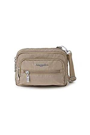Baggallini Damen Triple Zip bagg Konvertierbare Crossbody-Tasche