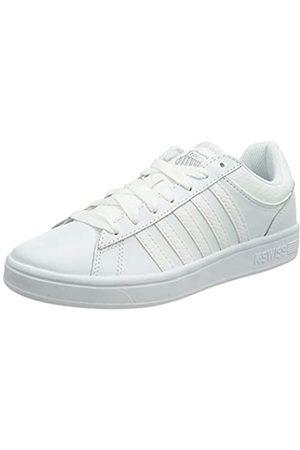 K-Swiss Damen Schuhe - Damen Court Winston Sneaker, White/Reptile