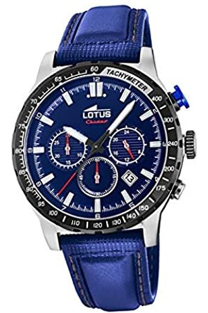 Lotus Herren Chronograph Quarz Uhr mit Leder Armband 18587/2
