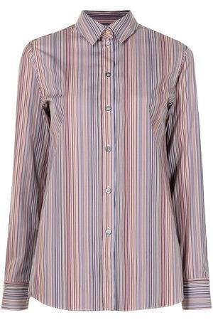 Paul Smith Stripe print shirt - Mehrfarbig